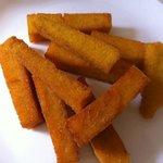 polentinha frita