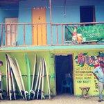 Surf shop at the Beach