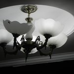 Room roof shade lamps