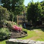 Garden at Schloss Hornberg Hotel