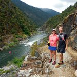At the beginning of the Rogue River trail
