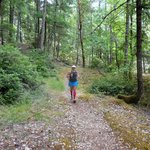 Running on the Rogue River Trail