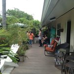 One side of the Inn, great gathering place.