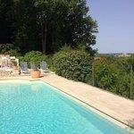 piscine avec vue magnifique