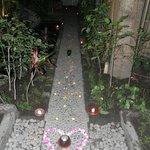 Decorated pathway