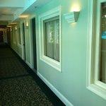 Room - windows in front facing hallway