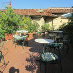Roof top garden lounge