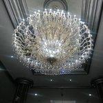 luces en el lobby