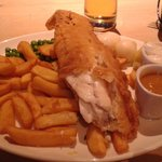 large fish n chips!