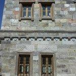 external wall  of first floor