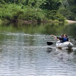 Kayaking Down the Sibun River (101457831)