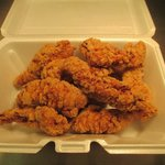 our homemade chicken tenders deep fried & batter cooked to order