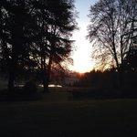 Sunset at Little Milton