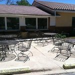PLENTY of indoor and outdoor seating for breakfast.  Nothing like breakfast on a patio!