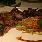BBQ Squid Appetizer