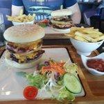 Lochside burger... delicious.