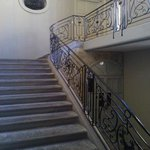 stairs to the B&B