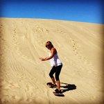 I ❤️ sand boarding!