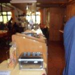 Breakfast area, dinner area