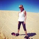 I ❤️ sand boarding!!