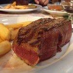 Lomo argentino con patas fritta