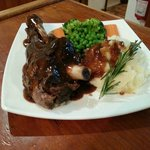 Roasted Lamb Shank