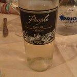 Frascati white wine
