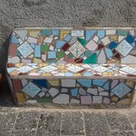 A bench for the friends of Sant' Angelo