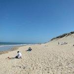 Wissant plage marée haute