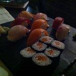 il mio piatto di sushi