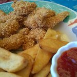 Almond Crusted Shrimp