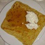 Crepe do café da manhã: o campeão da viagem