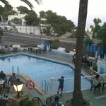 Main pool area, entertainment, bar etc.
