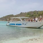 Adventure Antigua boat