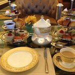 Afternoon tea in the Alba lounge