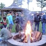 Enjoy a camp fire with friends and family