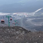 Etna's cable cars