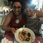 Gli spaghetti più buoni di tutta Lampedusa!!! Grazie  Caterina,  la gentilissima proprietaria!