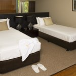 Twin share room at Cicada Lodge
