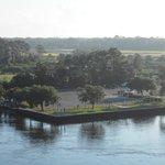 McCue Park as viewed from Beach Blvd Intercoastal Bridge.
