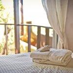 Ground floor bedroom with balcony, Diamond View Villa