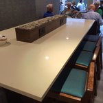 Breakfast bar with power points