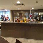 Reception desk & bar area