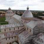 from atop the Leaning Tower