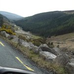 On the road : Wicklow Mountains National Park