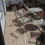 Balconcino privato camera 9