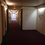 Corredor do 4o andar hotel
