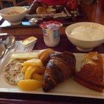 Café da manhã... Excelente!