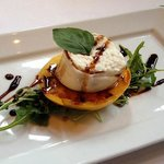 Burrata and heirloom tomato - appetizer