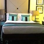 blue bedroom..